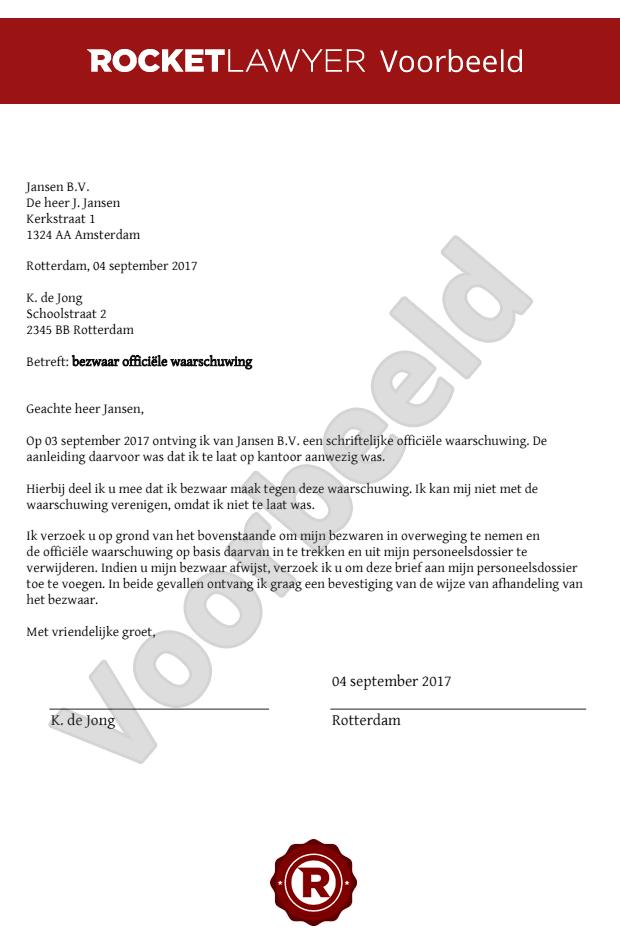 loonvordering brief voorbeeld Loonvordering Brief Voorbeeld | gantinova