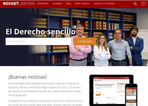 Rocket Lawyer España V1