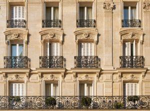 façade immeuble hausmannien