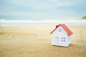 petite maison sur la plage