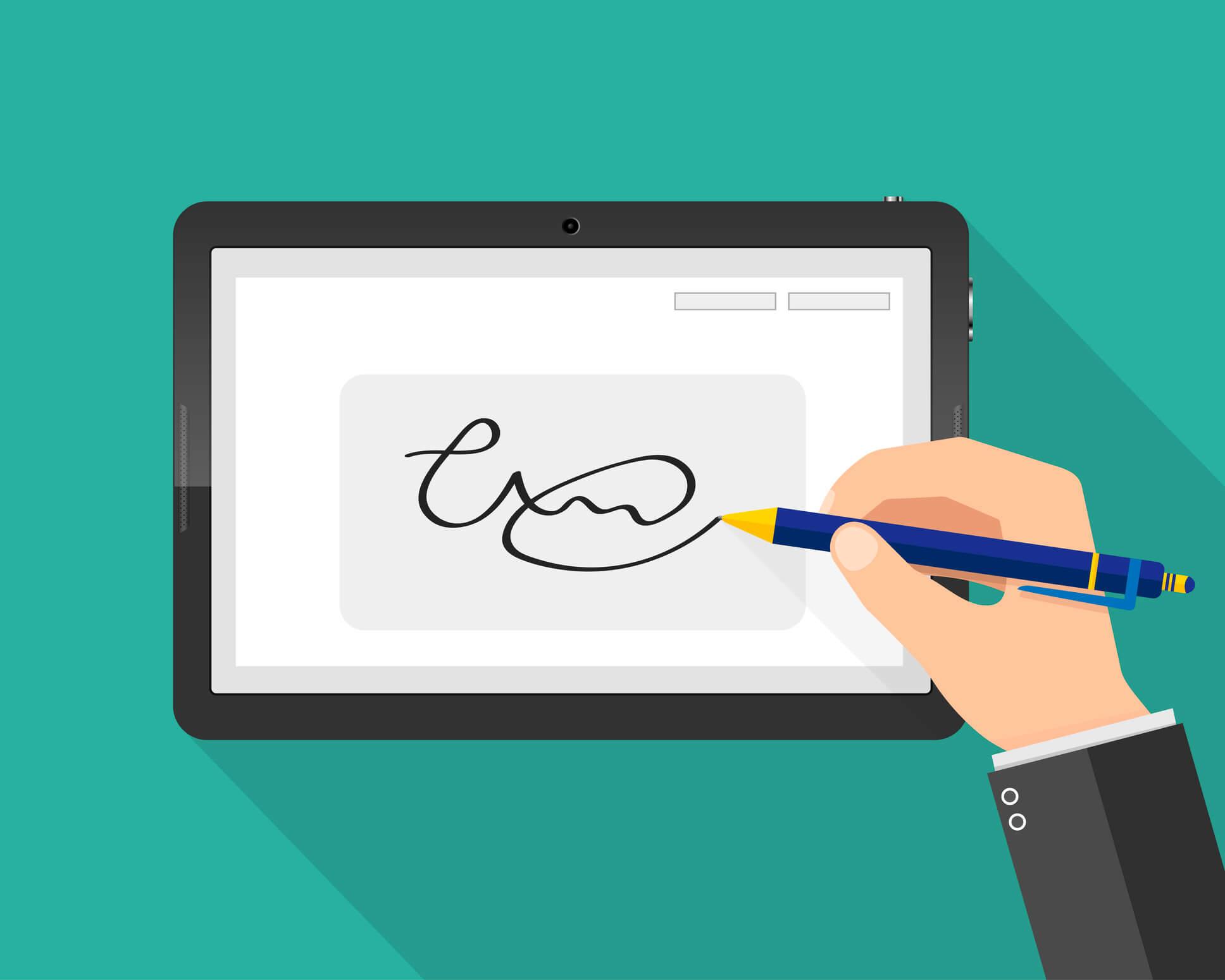 signature électronique valeur juridique