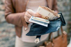 argent porte monnaie