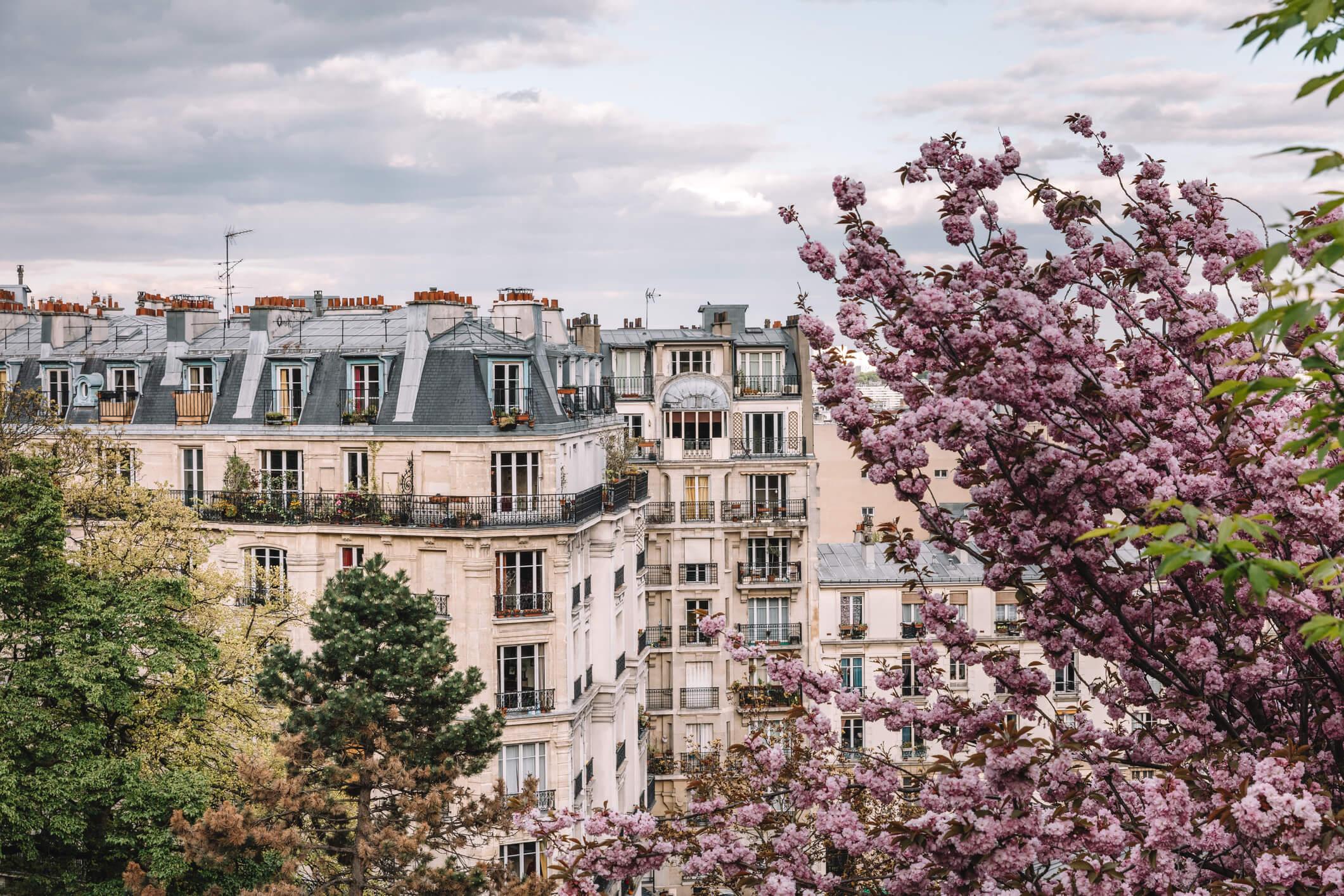 Immeubles haussmanien Paris