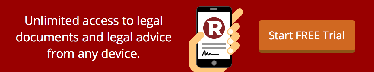 Start Free Trial with Rocket Lawyer