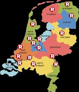 rocket laywer op nederlandse kaart