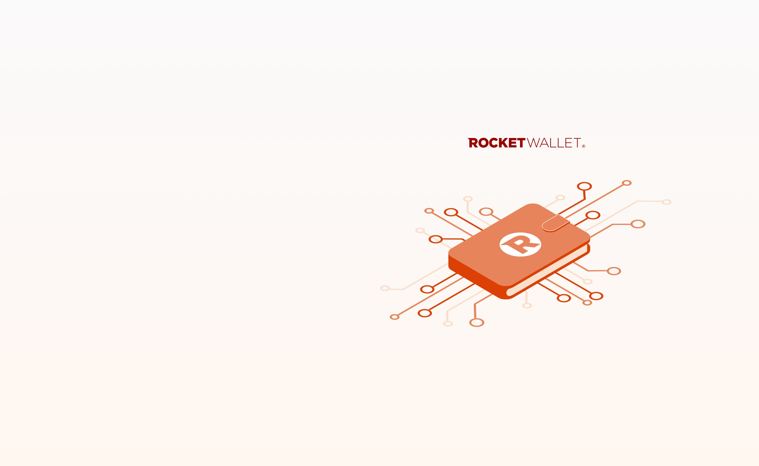 Rocket wallet hero