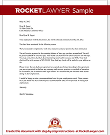 sample layoff letters