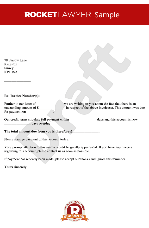 Second Late Payment Letter