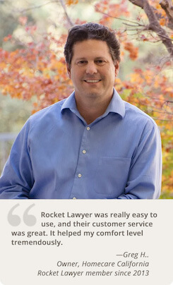 rocket lawyer customer