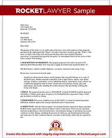 Sample Letter Of Interest To Purchase Land from www.rocketlawyer.com