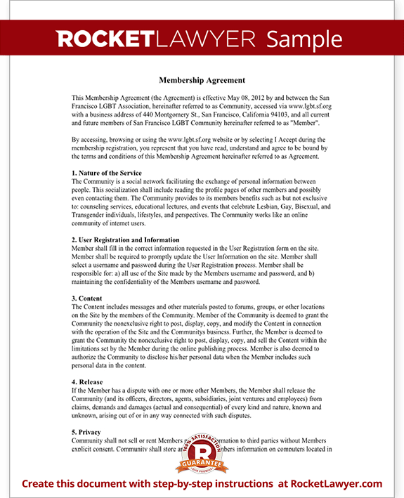 User agreement for online community website terms template for Royalty free license agreement template