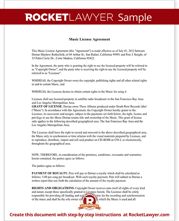 product license agreement template - how make a copyright agreement on youtube google product