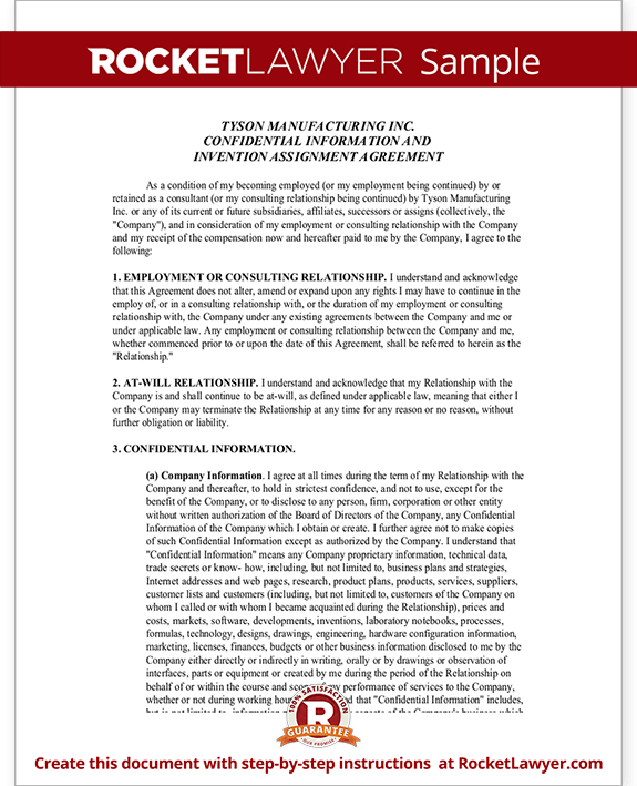 Confidentiality Agreement Form with Sample – Confidentiality Statement